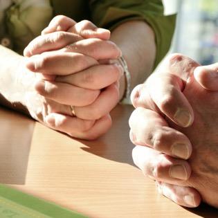 Modlitby za druhé a návštěvy